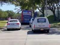 Video: Biden Campaign Bus Runs Red Light to Flee Pro-Trump 'Democrat Cemetery Vote Collector' Hearse