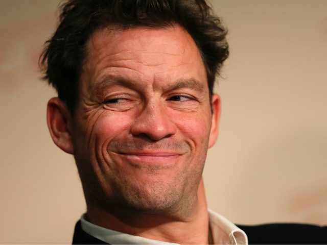 British actor Dominic West attends a press conference for the film 'The Square' at the 70th edition of the Cannes Film Festival in Cannes, southern France, on May 20, 2017. / AFP PHOTO / Laurent EMMANUEL (Photo credit should read LAURENT EMMANUEL/AFP via Getty Images)