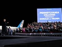 PA Rally: Donald Trump Plays Highlight Reel of Joe Biden Criticizing Fracking
