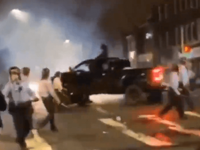 Driver runs down cops in philadelphia
