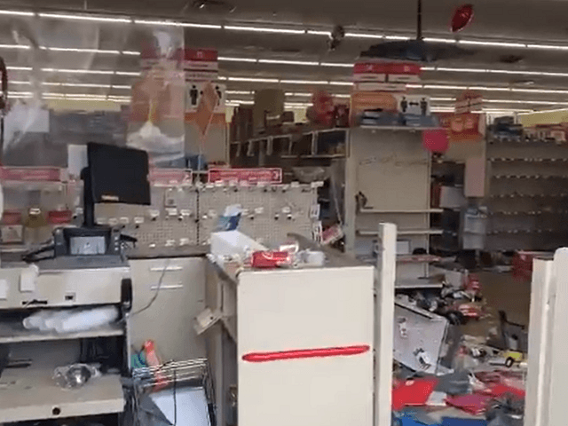 Philadelphia Family Dollar vandalized and looted by protesters.
