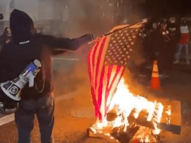 Flag Burning in Portland