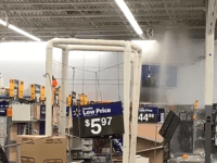 WATCH: Looters Flood Walmart After Breaking Pipes