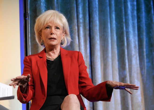 NEW YORK, NEW YORK - OCTOBER 10: Journalist Lesley Stahl speaks onstage during an interview conducted by TYWLS Student Maham Rahman at the 13th Annual (Em)Power Breakfast at Cipriani 42nd Street on October 10, 2019 in New York City. (Photo by Jemal Countess/Getty Images for Student Leadership Network)