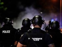 Anti-Cop Rioters Throw Fireworks, Bricks, Bottles at Rhode Island Police