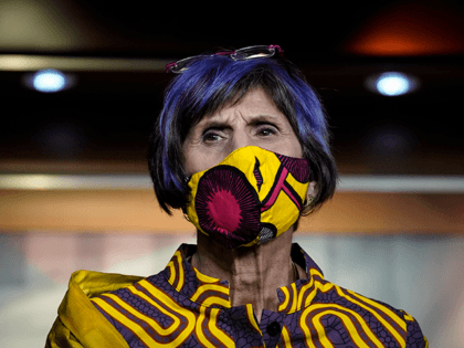 U.S. Rep. Rosa DeLauro (D-CT) attends a news conference about the Child Care Is Essential Act and the Child Care For Economic Recovery Act at the U.S. Capitol on July 29, 2020 in Washington, DC. The House is scheduled to vote later Wednesday afternoon on the two bills aimed at …