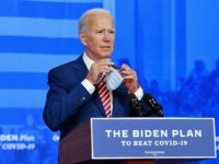 Joe Biden Promises to Push Elected Officials into Issuing Mask Mandates Nationwide