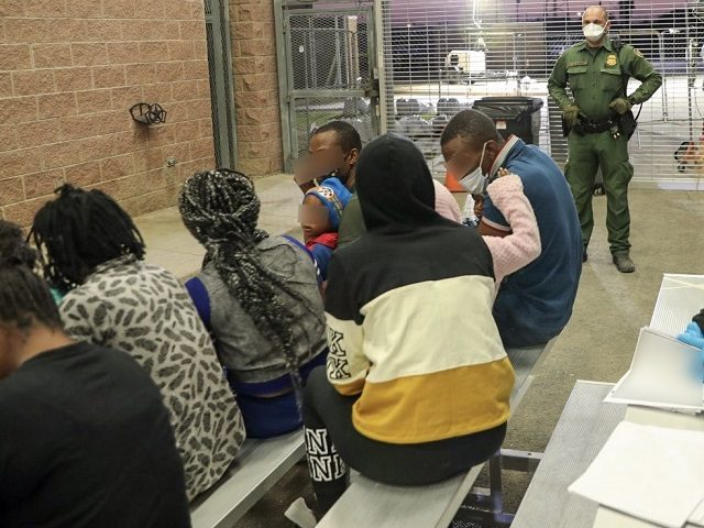 Del Rio Sector agents report a surge in Haitian migrants along the South Texas border with Mexico. (Photo: U.S. Border Patrol/Del Rio Sector)