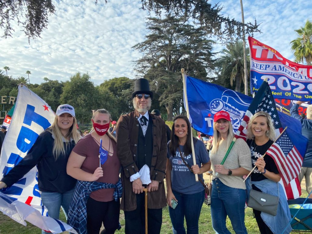Beverly Hills MAGA Rally 10/24/20 Credit Whitney R.