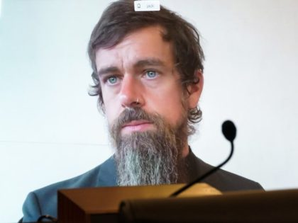 Jack Dorsey testifies remotely