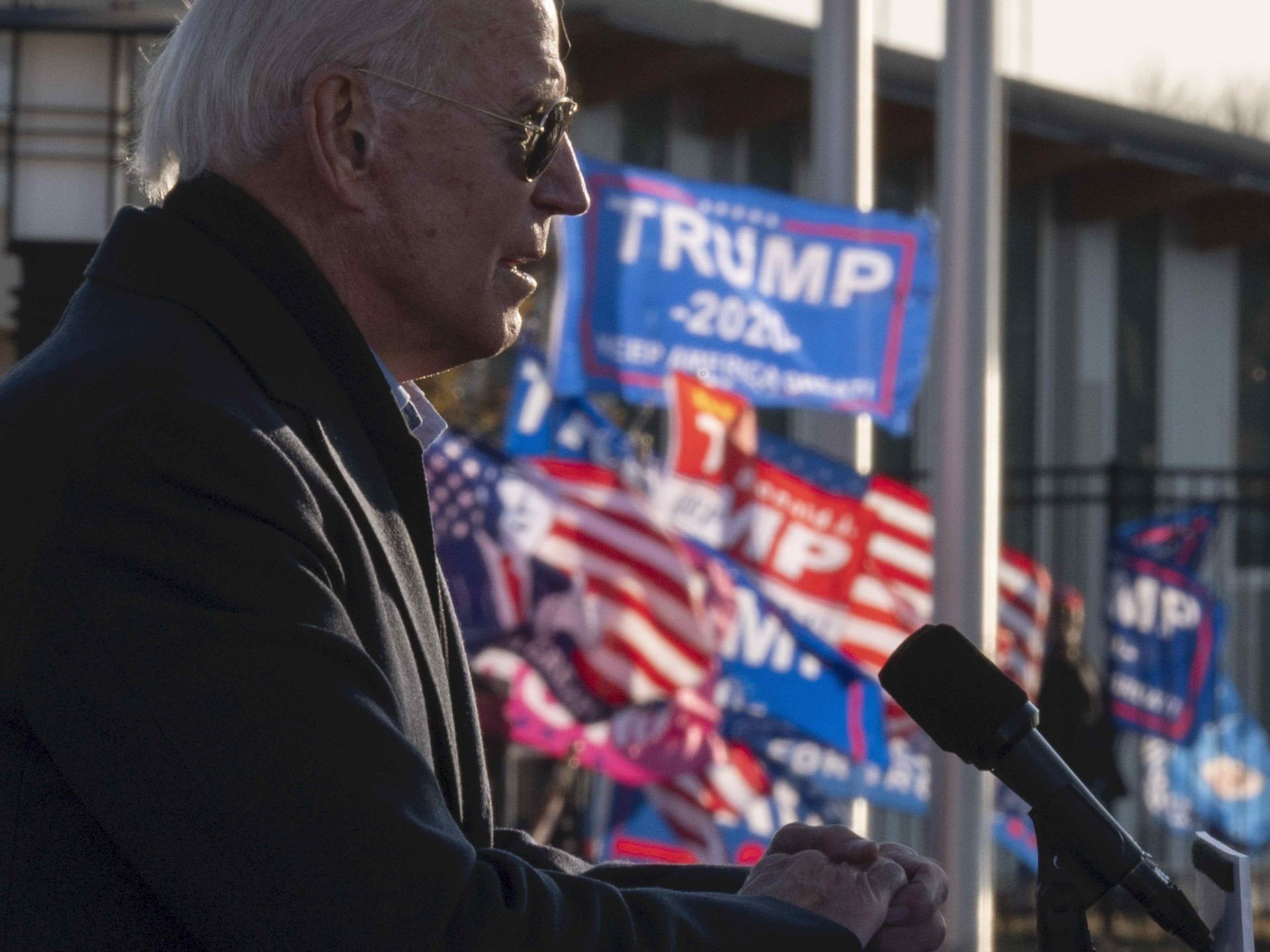 WATCH: Joe Biden Melts Down at Trump Supporters in Minnesota: 'Ugly People'