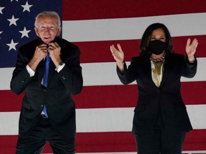 Joe Biden and Kamala Harris (Olivier Douliery / AFP / Getty)