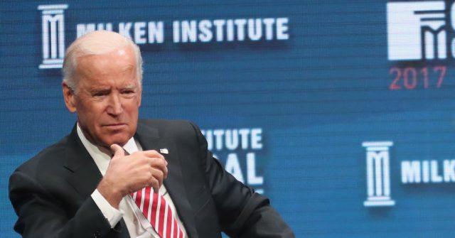 Joe Biden Told Milken Conference 'I'm Not Running' in 2020: I'd Be 'in a Walker'