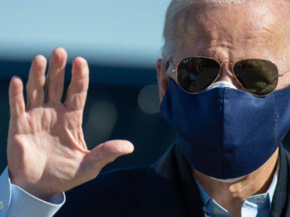 Joe Biden bye (Roberto Schmidt/ AFP / Getty)