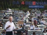 Joe Biden Addresses Record Crowd of 771 People in 365 Cars in Atlanta