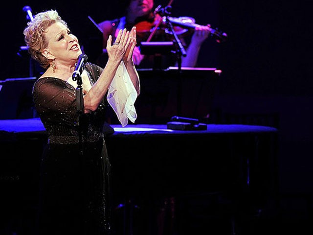 Bette Midler Turns to God to Defeat 'Racist Criminal' Trump