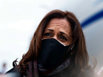 Kamala Harris Caught on Hot Mic Forgetting the City She's Campaigning in: 'Are We in Cleveland?'