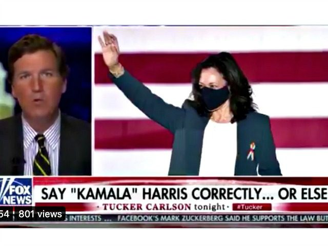 Kamala Harris Name Chyron Fox News