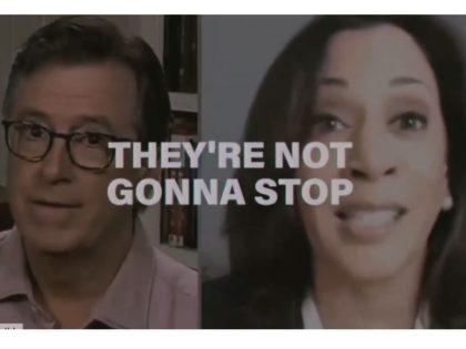 Kamala on Colbert