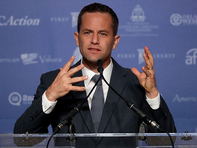 WASHINGTON, DC - SEPTEMBER 09: Actor Kirk Cameron addresses the Values Voter Summit at the Omni Shoreham September 9, 2016 in Washington, DC. Hosted by the Family Research Council, the summit is an annual gathering of social and political conservatives. During the summit's 2015 presidential straw poll, Republican presidential candidate …