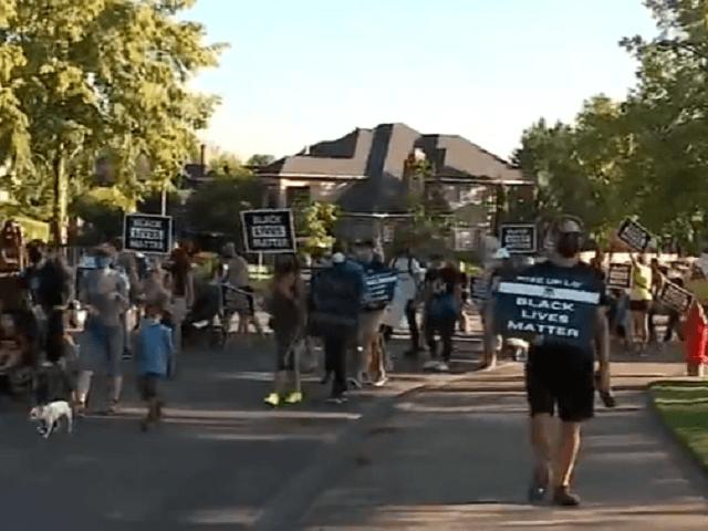 Lake oswego BLM protest