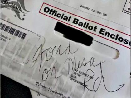 Stolen Mail-In Ballot