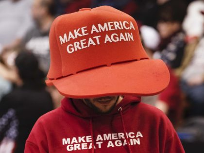 MAGA hat (Drew Angerer / Getty)