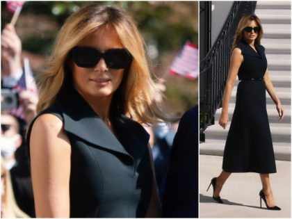 Fashion Notes: Melania Trump Emerges from Quarantine in Dior for Debate