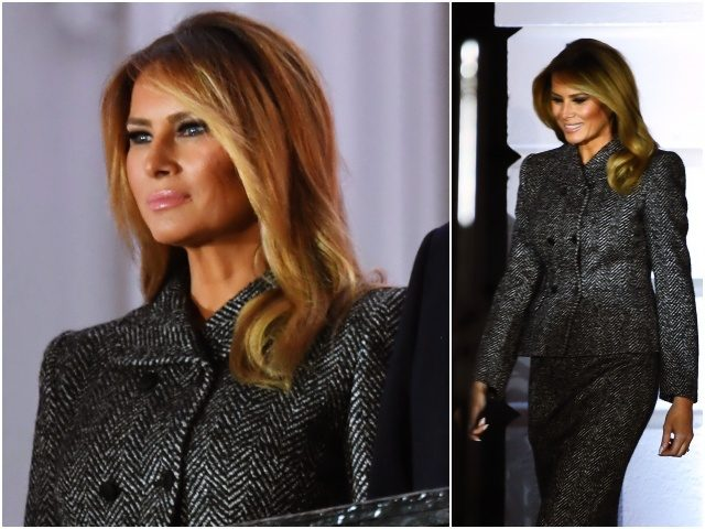 Fashion Notes: Melania Trump Wears Off-the-Runway Dolce and Gabbana for ACB Swearing In