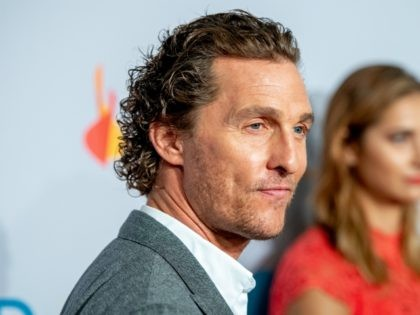 NEW YORK, NY - SEPTEMBER 27: Matthew McConaughey attends the 2018 Samsung Charity Gala at The Manhattan Center on September 27, 2018 in New York City. (Photo by Roy Rochlin/Getty Images)