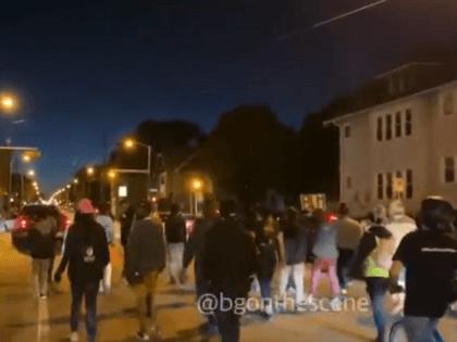 Milwaukee Protest -- Twitter Video Screenshot/Brendan Gutenschwager