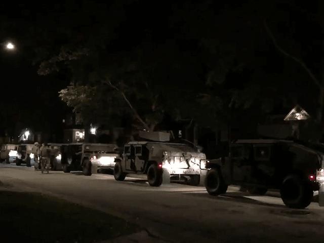Wisconsin National Guard in Wauwatosa.