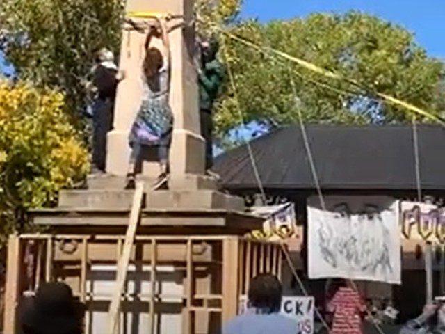 Obelisk Vandalism