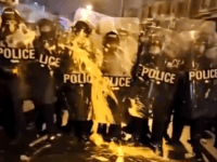 Watch: Protest Turns Violent After PA Cops Shoot Man Armed with Knife