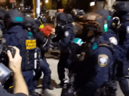 Portland Chaos: Video Shows Antifa Screaming as Police Retake Streets