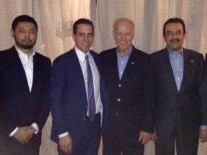 PHOTO: Joe Biden Meets Hunter Biden's Business Associate from Kazakhstan