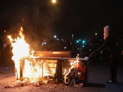 Riots in Philadelphia (Gabriella Audi / AFP / Getty)