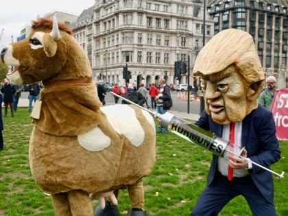 Low Energy! London 'Stop Trump Coalition' Protest Sees Poor Turnout