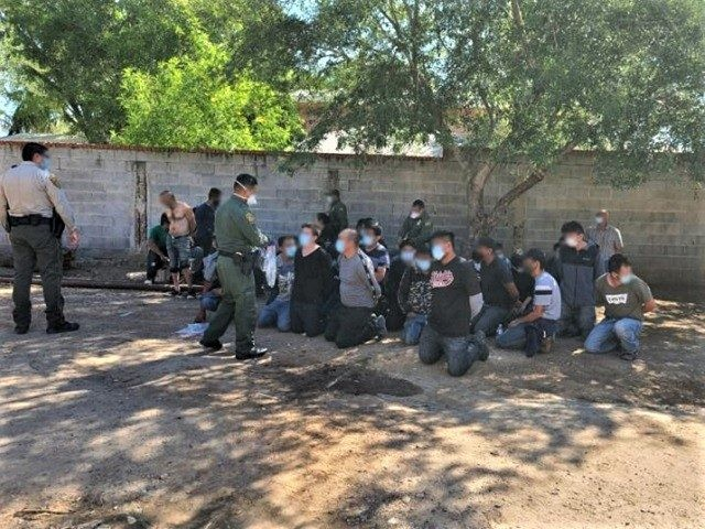 Human smuggling stash house operation in Rio Bravo, Texas, is disrupted by Border Patrol agents and sheriff's office deputies. (Photo: U.S. Border Patrol/Laredo Sector)