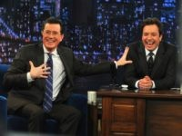 Study: Stephen Colbert, Jimmy Fallon Trash Trump 97 Percent Over Biden