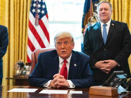 Sudan peace Trump announcement (Alex Edelman / AFP / Getty)