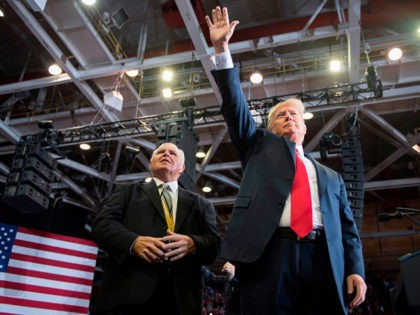 Donald Trump: 'You Never Saw a Fighter Like Rush Limbaugh'