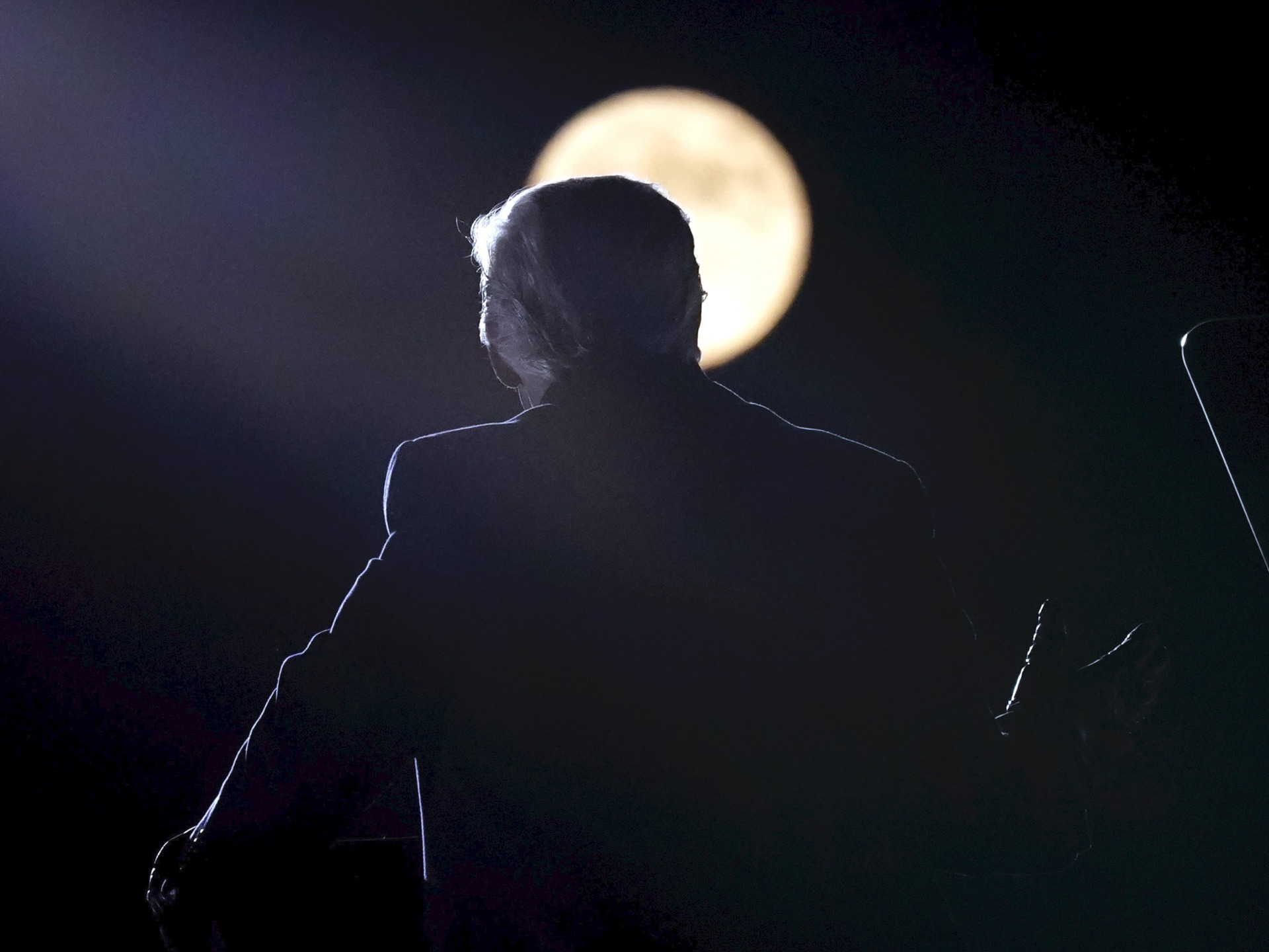 Trump full moon (Alex Brandon / Associated Press)