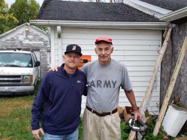 Volunteers Build Home for Indiana Vietnam Veteran