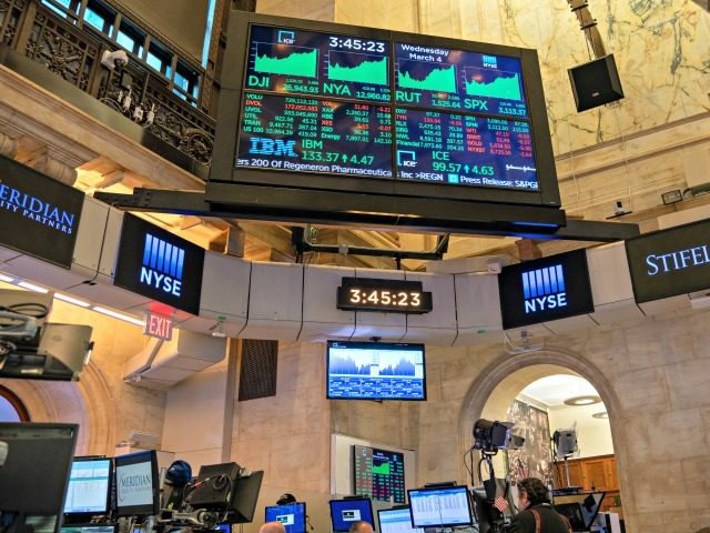 NEW YORK, NY - MARCH 04: Traders work the floor of the New York Stock Exchange (NYSE) on March 4, 2020 in New York City. The news of Democratic presidential candidate, former Vice President Joe Biden's delegate lead after the Super Tuesday primaries helped the market rebound and close at …