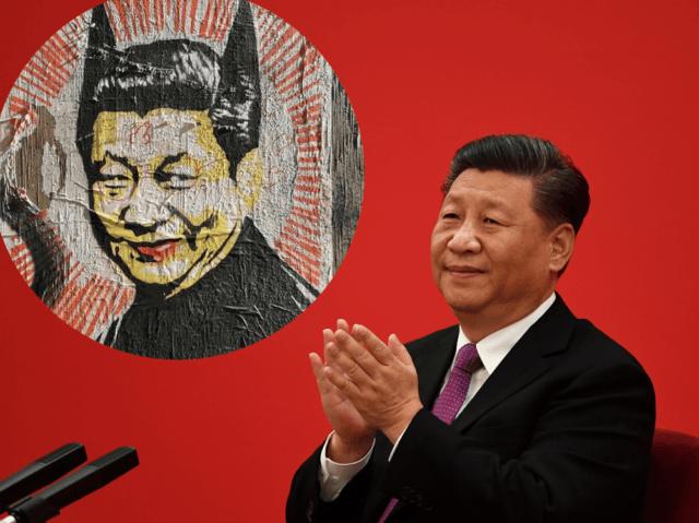 Xi Jinping Bat Man