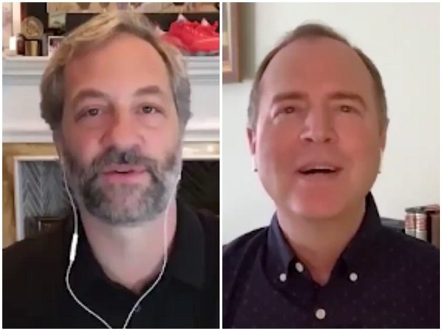 Judd 'Donald Is a Mass Murderer' Apatow, Impeachment Manager Adam Schiff Urge People to Vote