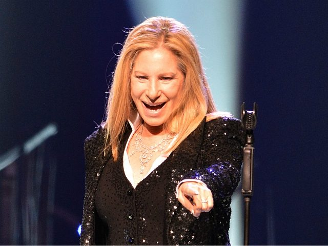 Barbra Streisand performs on stage at the O2 arena in London on Saturday, June 1, 2013. (Photo by Mark Allan/Invision/AP)