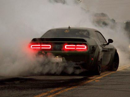 burnout smoke