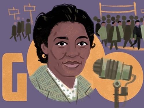 Claudia Jones Google Doodle